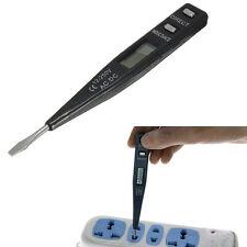 AC DC 12-250V Digital Electric Voltage Sensor Detector Testing Tester Pen