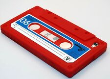 for iPod touch 4th 4g itouch cute case cover cassette tape pink orange black red