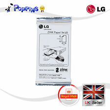10 Sheets LG Print Paper Film ZINK for Pocket Photo PD221 PD233 PD239 PD251