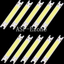 10PCS 3W White COB High Power LED Stripe LED Light Emitting Diode