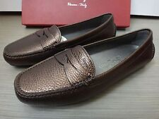 Salvatore Ferragamo Forever Loafers Shoes (New with box, size 6.5)