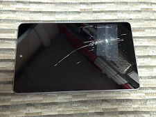 OEM Nexus 7 (1st Generation 7in) - Front Assembly - Cracked Screen / Good LCD
