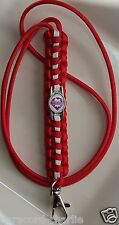 Philadelphia Phillies Team Logo Emblem Red & White Paracord Lanyard or Bracelet