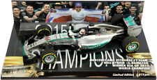 Minichamps Mercedes W06 Austin USA GP 2015 - Lewis Hamilton World Champion 1/43