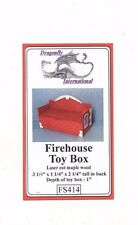 Fireouse Toy Box FS414 dollhouse furniture kit Dragonfly 1/12 scale wood