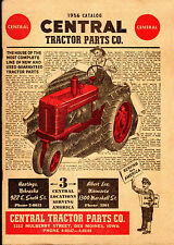 1956 CATALOG Central TRACTOR PARTS New Used TOOLS Etc. Des Moines Iowa FARMING