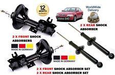 Para Volvo S40 1995-1999 Nuevo 2x Frontal + 2x Amortiguador Trasero Shocker Set