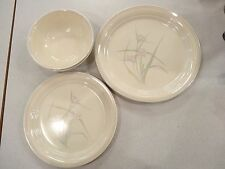 LOT OF 5 PCS CORELLE CORNING WARE SPRING POND BOWLS, PLATES