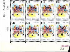FINLANDIA - 1981 - Campionato europeo di pugilato