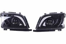 1989 - 2002 for Mercedes R129 SL500 500SL Head Lamp Light Black Left Hand Driver