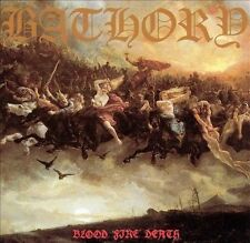 Blood Fire Death by Bathory (CD, 1994, Kraze Records)