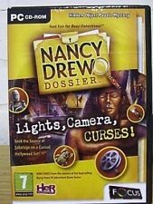 NANCY DREW DOSSIER LIGHTS CAMERA CURSE ( PC GAME ) NEW SEALED