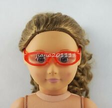 Red Glasses Sunglasses Goggles For 18'' American Girl Dolls Girl Gifts
