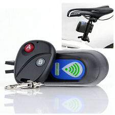 Security Bicycle Bike Alarm Anti-theft Lock Loud Sound+ Wireless Remote Control