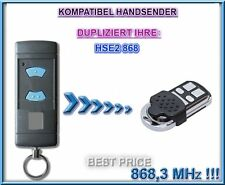 Hörmann HSE2 Kompatibel handsender, 868,3MHz Ersatz, Klone. NOT MADE BY Hörmann