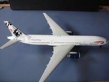 British Airways 777-236ER G-VIIT Hong Kong 1/200 diecast Inflight FREE SHIPPING