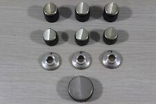 Kenwood Solid State Stereo Tuner Model KR-100 Replacement Knob Set (7)