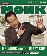 Mr. Monk and the Dirty Cop by Lee Goldberg (2012, unabridged audiobook on CD)