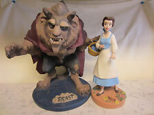 WDCC Disney Classics Beauty And The Beast Maquette Set Limited Edition Belle