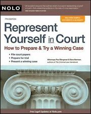 Represent Yourself in Court : How to Prepare and Try a Winning Case by Paul...