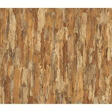 NEW MURIVA BLUFF BARK TREE WOOD PATTERN FAUX EFFECT VINYL EMBOSSED WALLPAPER