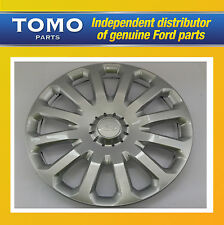 "New Genuine SET of 4 FORD Fiesta/B-Max/Ecosport/KA 15"" Wheel Trim/Cover/Hub Caps"
