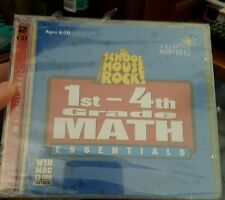 School House Rock! 1st-4th Grade Math Essentials PC GAME- FREE POST