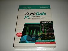 """Timeworks SwiftCalc PC new in box Dos spreadsheet 5.25"""""""