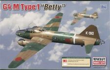 Minicraft Plastic Model Kit 14634 G4 M Type 1 Betty Aircraft 1:144 Scale