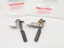 HONDA CB 750 C Carbone Spazzola Set ALTERNATORE COMPLETO Brush Set NEW ORIGINALE