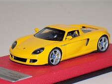 1/43 Tecnomodel Porsche Carrera GT Coupe in Yellow 2004 Leather Limited to 75