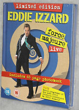 Eddie Izzard: Fuerza Mayor Vivo - Edición Limitada Libro DVD Box Set