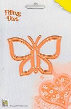 Nellie Snellen Filling Cutting Dies - Quilling - Butterfly  - QD004 - New