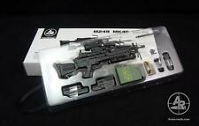 Arms-rack 1/6 Scale MK249 Rilfe Gun Weapon Box Set 1/6 Black Version