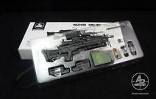 Arms-rack 1/6 Scale MK249 Rilfe Gun Weapon Box Set 1/6 Black Version
