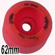 VANGUARD Zinger 62mm 97a  Skateboard Wheels Pink - 80s Old School - Pool Style