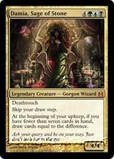 DAMIA, SAGE OF STONE Commander 2011 MTG Gold Creature—Gorgon Wizard MYTHIC RARE