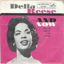 Della Reese POP JAZZ 45 & COVER (RCA 7784) And Now/ There's Nothing Like A Boy