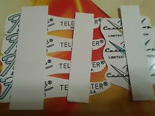 FENDER  TELECASTER & CUSTOM SHOP HEADSTOCK  RESTORATION  DECAL  SET