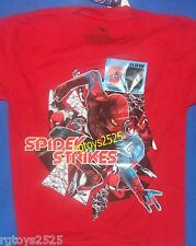 Marvel The Amazing Spiderman T-Shirt Sz 5-6 New Childs Glow in the Dark