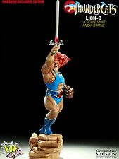 SIDESHOW LION-O EXCLUSIVE~Mixed Media STATUE LTM 375 THUNDERCATS MUMM-RA Figure