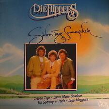 """12"""" LP Die Flippers Sieben Tage Sonnenschein (Rhodos) 90`s Dino (Near Mint)"""