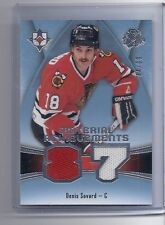 15-16 2015-16 ULTIMATE COLLECTION DENIS SAVARD MATERIAL ACHIEVEMENTS JERSEY /99