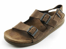 Brown Suede MEPHISTO AIR-RELAX Strappy Summer Sandals Super Comfy 44 FRANCE