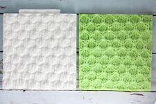 Silicone Mould  Knit Texture Embossing Mat ,Knitted. Knitting M185