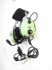 NIB DAVID CLARK H10-60 HEADSET GA/Dual Plugs  p/n 40128G-01 AUTHORIZED DEALER
