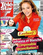 TELE STAR N°1914 8 JUIN 2013  DOUNIA COESENS/ LINE RENAUD/ COOPER/ THEURIAU
