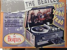 ULTRA RARE BEATLES PICK UP CD PLAYER APPLE 1998  NEW IN BOX