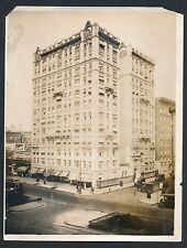1918 NEW YORK CITY BROADWAY APARTMENT BUILDING Vintage Photo