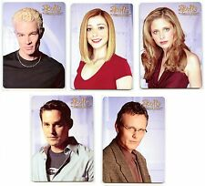2017 BUFFY the VAMPIRE SLAYER Collector's Set 2 Complete 5-Card Metal Set